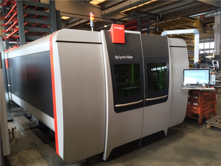 Leggi news | Nuovo Impianto Laser Bysprint 3015 Fiber da 6000W